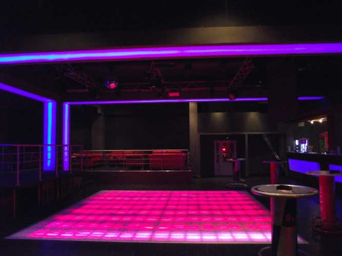 2Space disco club – Košice (Slovakia)